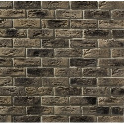 Grey black country Brick Slips for internal and external use