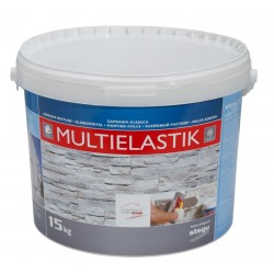 MultiElastik Frost-resistant adhesive for  brick slips and stone cladding