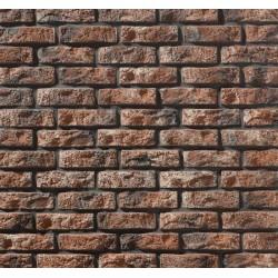 Rustic Red blends Brick slips