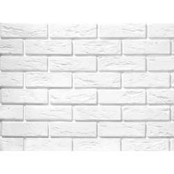 Parma white brick slips...