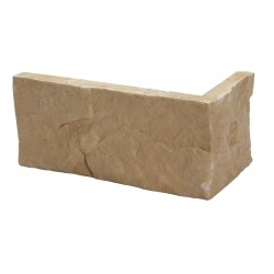 Rock brick corners
