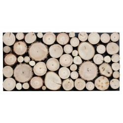 PURE log real wood panels
