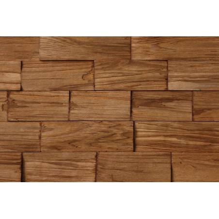 Polywood brown - wood effect tiles