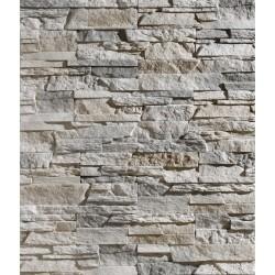 Como Off White split face tiles