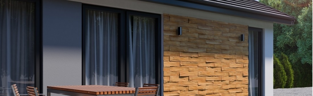 Timber Amber cladding